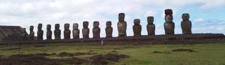 Moi at Easter island